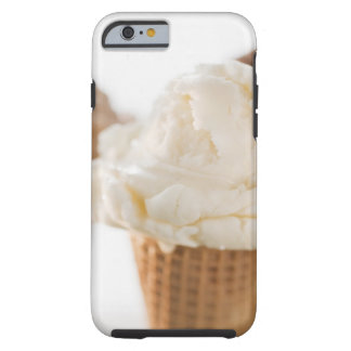 Close up of various ice cream cones tough iPhone 6 case