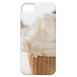 Close up of various ice cream cones iPhone 5 cover
