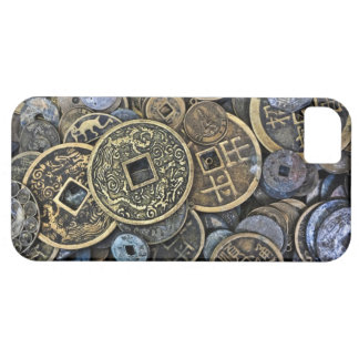 Close up of Vietnamese coins iPhone 5 Cases