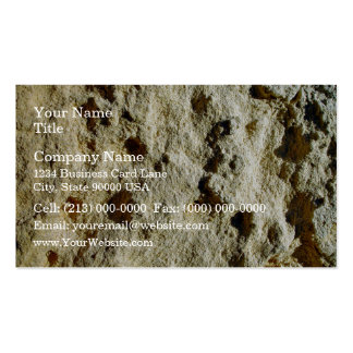 Close-up of Weathered limestone texture Pack Of Standard Business Cards