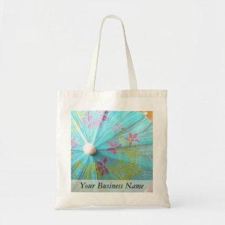 Close Up - Paper Parasol Budget Tote Bag
