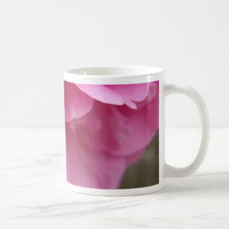 Close-up Pink Flower Pink Camillia Basic White Mug