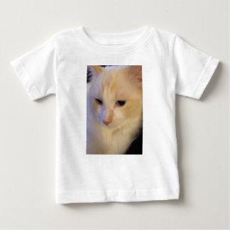Close Up Red Point Ragdoll Cat Baby T-Shirt