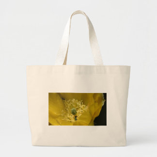 Close-up Yellow Flower Picture Bag
