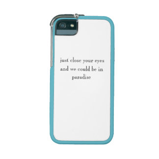 Close Your Eyes - IPhone Case iPhone 5 Cover