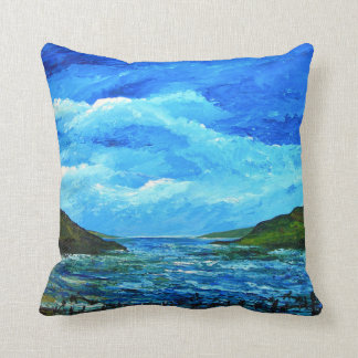 Closed borders 2012 throw pillow