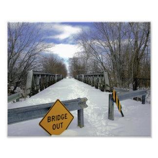 Closed Bridge Photo Print