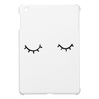 Closed eyes, just eyelashes cover for the iPad mini