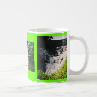CLOSER VIEW, YELLOW CREEK, MY FAVORITE PLACE BASIC WHITE MUG