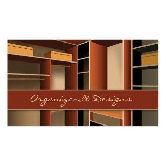 Closet, Interior Design Business Card Templates