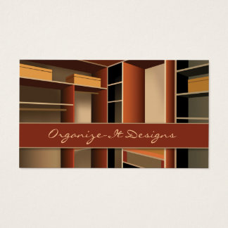 Closet, Interior Design Business Card