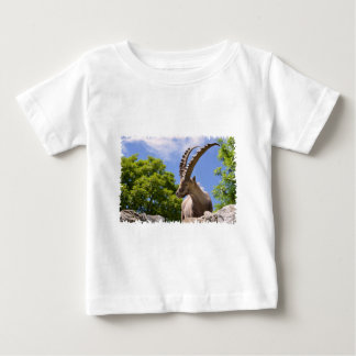 Closeup Alpine ibex Baby T-Shirt