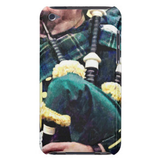 Closeup of Bagpiper iPod Touch Covers
