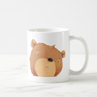 CloseUp of Big Brown Bear Coffee Mug