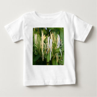 Closeup of Lonicera European Honeysuckle Flower Baby T-Shirt