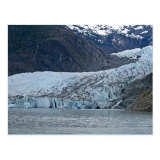 Closeup of Mendenhall Glacier - Juneau, Alaska Postcard