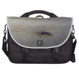 Closeup of New Dark Spot on Jupiter Laptop Messenger Bag