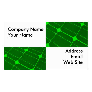 Closeup of Solar Panels Pack Of Standard Business Cards