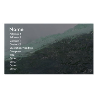 Closeup Of The American Side Of Niagra Falls Business Card
