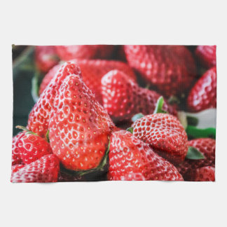 Cloth cooks strawberry