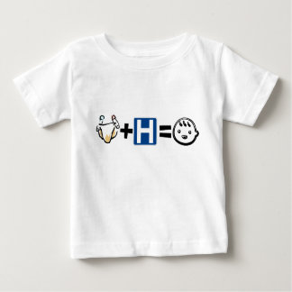 Cloth + Hospital = Happy Baby Onsie/ Baby T-Shirt