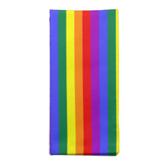 Cloth Napkins Pride flag Rainbow