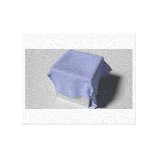 cloth on a cube canvas print