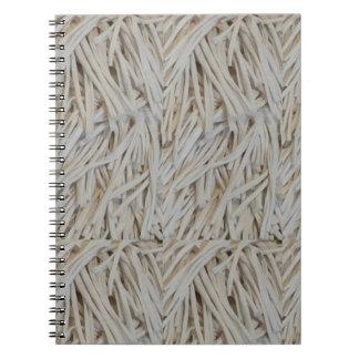 Clothe Fringe Art Fabric Strings fashion garments Note Books