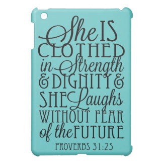 Clothed in Strength & Dignity iPad Mini Case