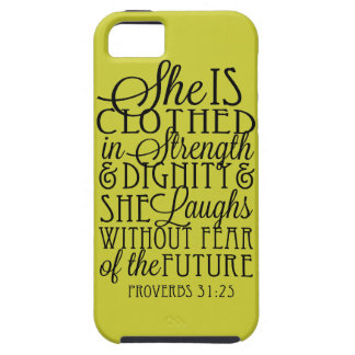 Clothed in Strength & Dignity iPhone 5 Covers