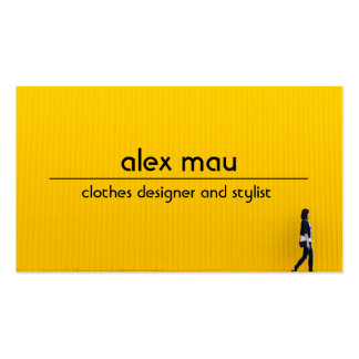 Clothes fashion business card