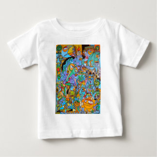 Clothes with The Sun Ride by Lorenzo Traverso Baby T-Shirt