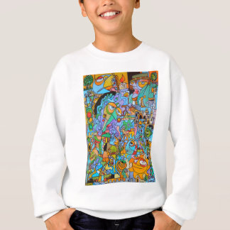Clothes with The Sun Ride by Lorenzo Traverso Sweatshirt