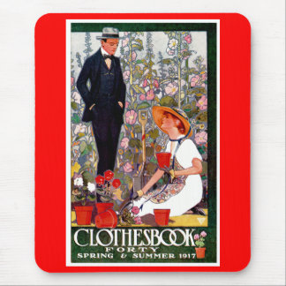 Clothesbook Forty: Spring and Summer 1917 Mouse Pad