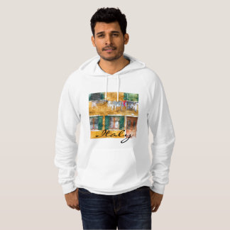 Clothesline on a Building in Burano Italy Hoodie