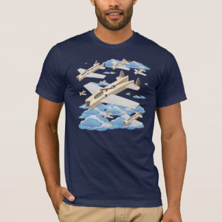 Clothespin Airplanes T-Shirt