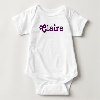 Clothing Baby Claire Baby Bodysuit