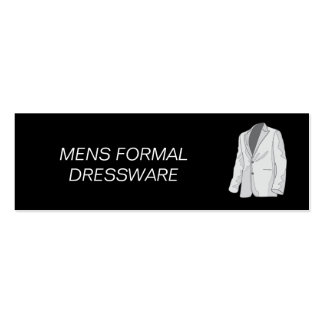 Clothing Pack Of Skinny Business Cards
