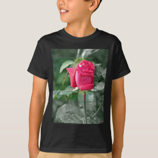 CLOTHING Flowers by the Lake - Red Rose Shirt