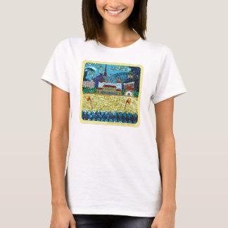 Clothing | Luna Bondi | Sydney | Sequin Art T-Shirt