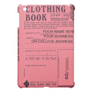 clothing ration book  iPad mini cases