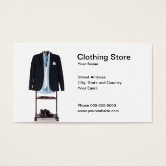 Clothing Store Business Card