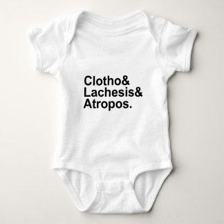 Clotho Lachesis Atropos | 3 Fates of Greek Myth Tshirt
