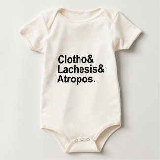 Clotho Lachesis Atropos | 3 Fates of Greek Myth Bodysuits