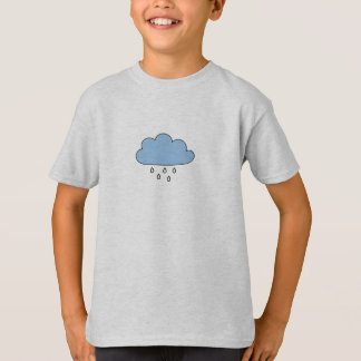"Cloud  ""as right as rain"" T-Shirt"