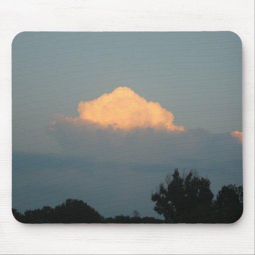 Cloud at sunset Mousepad