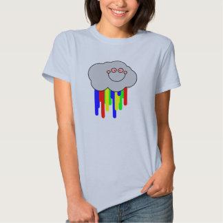 Cloud Bleed Rainbow (F) Tee Shirt