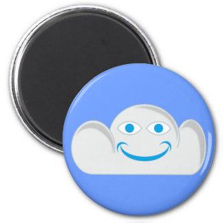 Cloud cloud fridge magnets