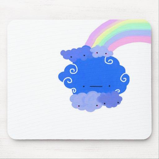 cloud cloud mousepads