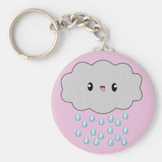 "Cloud, clouds, rain, rainy, raining, kawaii, ""rai key chain"